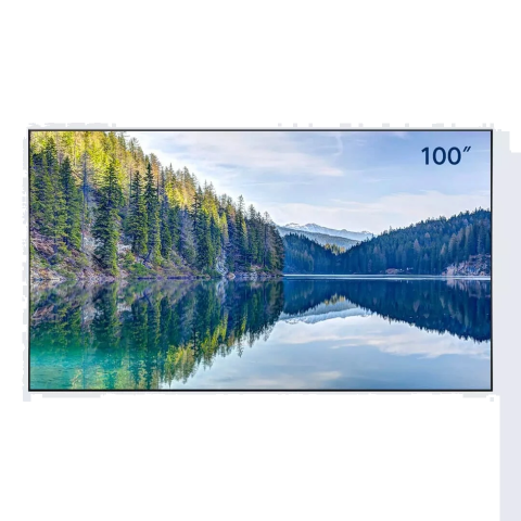 Fengmi Fabulus F2 Flexible Fresnel Anti-light ALR Fixed Frame Projector Screen 100 Inches 60° Wide Viewing Angle Grey