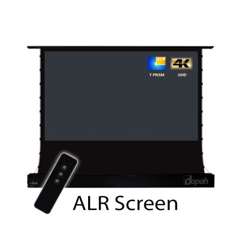 Dopah Premium Electric ALR Floor Screen for UST Projector
