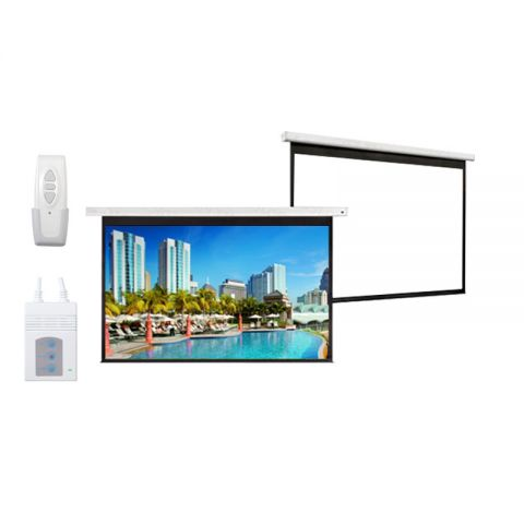 "DP Motorized/Electric Projection Screen 60"" x 60"""