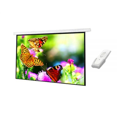 "DP Motorized/Electric Projection Screen 96"" x 96"""