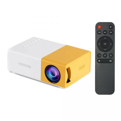 MiniBeam Ultra Portable Mini LED Projector (Supports Power Bank as power source)