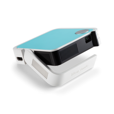 ViewSonic M1 mini Plus Ultra Portable 50 Lumens Smart Wi-Fi Projector with JBL Bluetooth Speaker