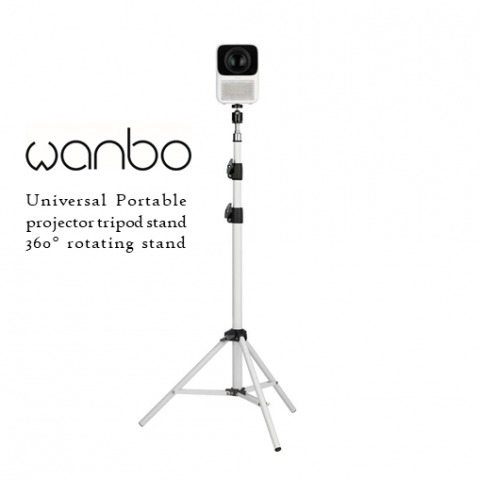 Xiaomi Wanbo T2 Max / Pro / Free height 1.7m universal portable projector stand, tripod, 360° rotating stand