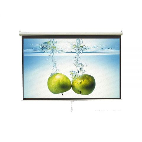 Unic Manual Wall Screen WMS-120D (6' x 8')
