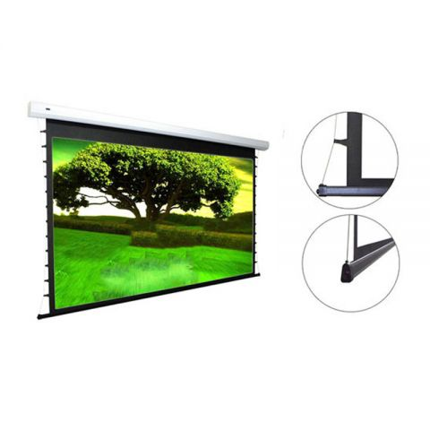 Unic Tab Tension Motorized Screen 16:9 HDTV Format w/500mm