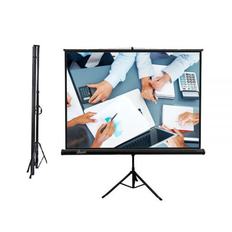 "Dopah Tripod Screen 84"" X 84"" (7' X 7') Matt White"