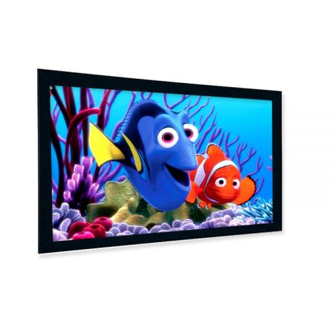 "Venova Fixed Frame Screen 119""D (58.3"" x 103.7"")"