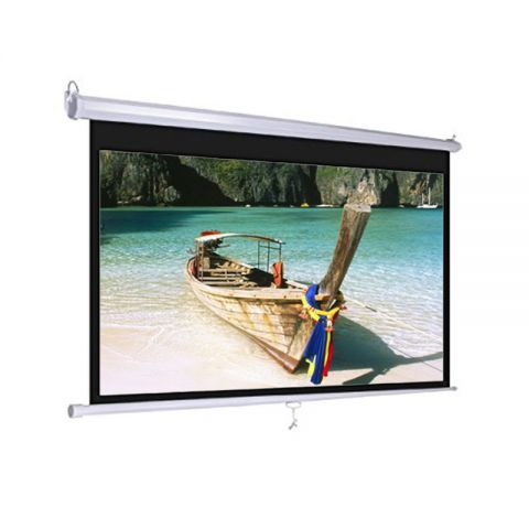"Venova Wall Screen 96"" x 96"" Matt White"