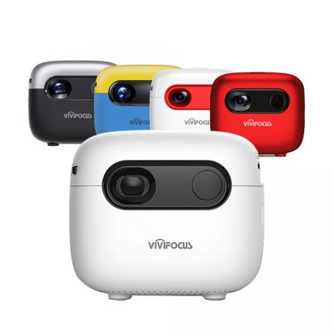 ViviFocus VS7-4G Mini Portable Android 4G Smart Pico Projector (With Built-in Battery)