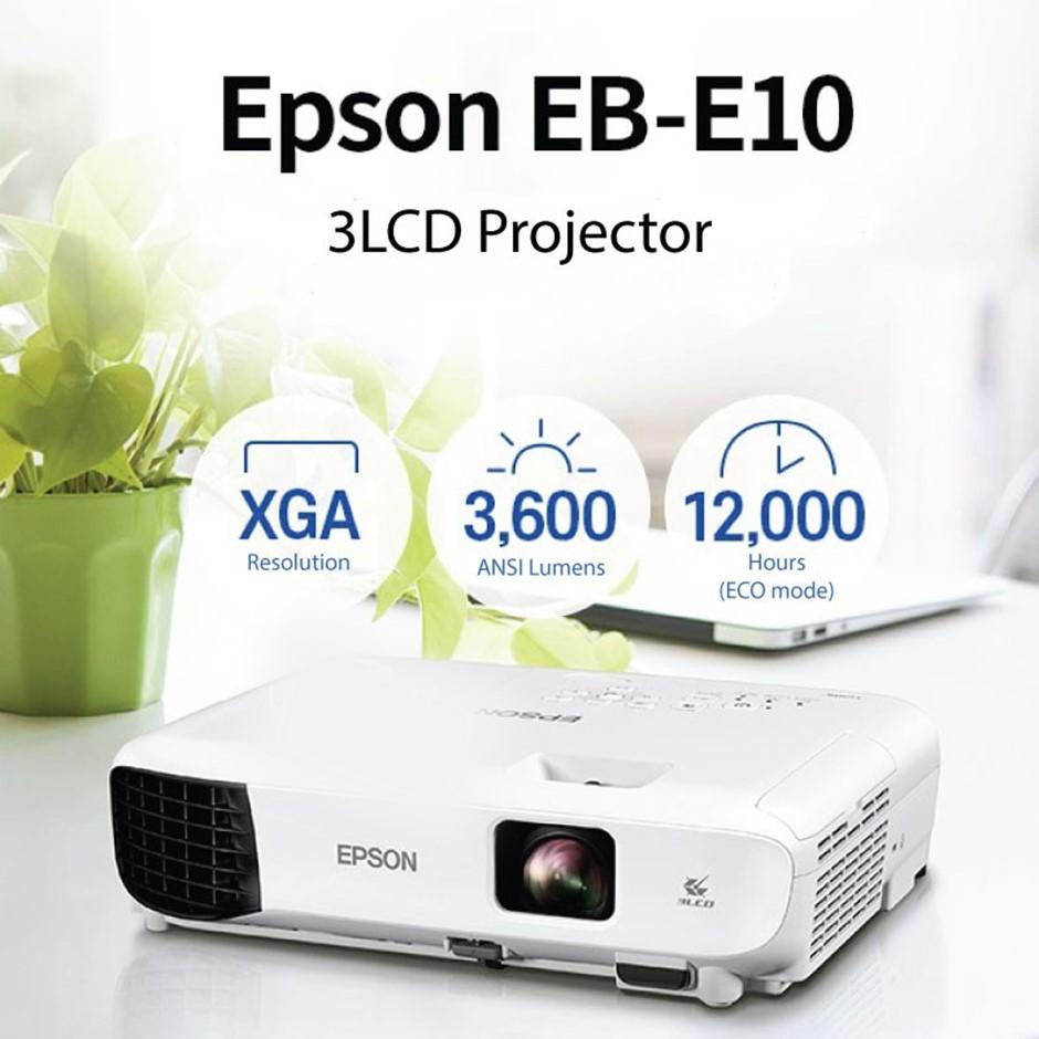 Epson EB-E10 XGA 3LCD Classroom Projector review